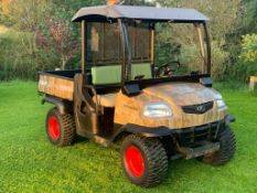 KUBOTA 4X4 DIESEL HYDRAULIC TIPPER BUGGY, RUNS, WORKS AND TIPS *PLUS VAT*