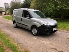 2017/67 REG VAUXHALL COMBO 2000 CDTI ECOFLEX S/S 1.25 DIESEL PANEL VAN, SHOWING 0 FORMER KEEPERS