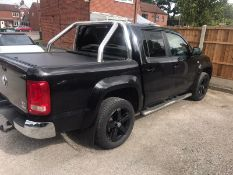 2012/12 REG VOLKSWAGEN AMAROK HIGHLINE 4MOTION DC 2.0 DIESEL PICK-UP, SHOWING 3 FORMER KEEPERS