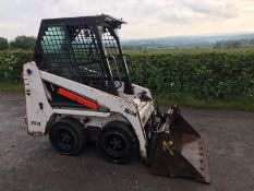 2015 BOBCAT S70 SKID STEER LOADER, 1960 HOURS, 4 IN 1 BUCKET, RUNS, DRIVES AND LIFTS *PLUS VAT*