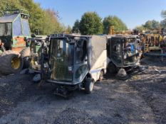 JOB LOT OF 3 X 2009 GREEN MACHINE ROAD SWEEPERS *PLUS VAT*