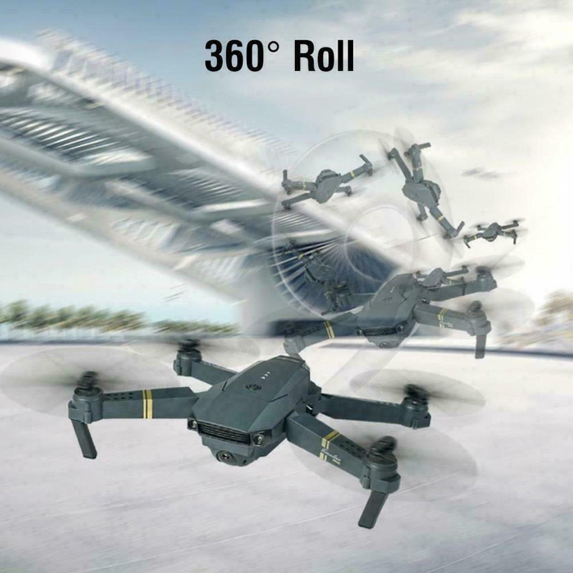 NEW & UNUSED DRONE X PRO WIFI FPV 1080P HD CAMERA FOLDABLE RC QUADCOPTER + BAG *PLUS VAT* - Image 9 of 9