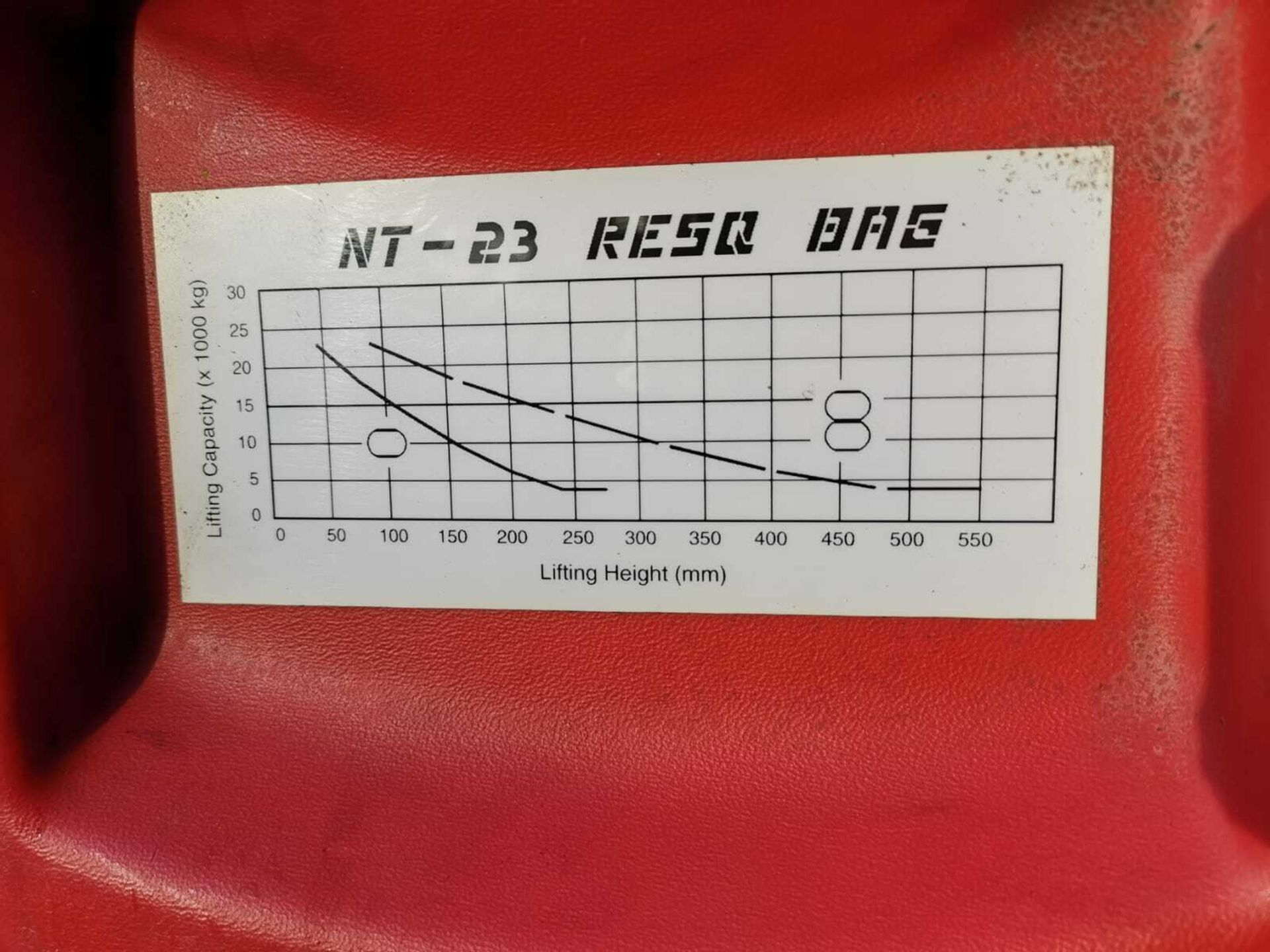 ZUMRO RESQ CASE & RESQ AIR BAGS NT-23, NT-58, NT-132. *PLUS VAT* - Image 6 of 7
