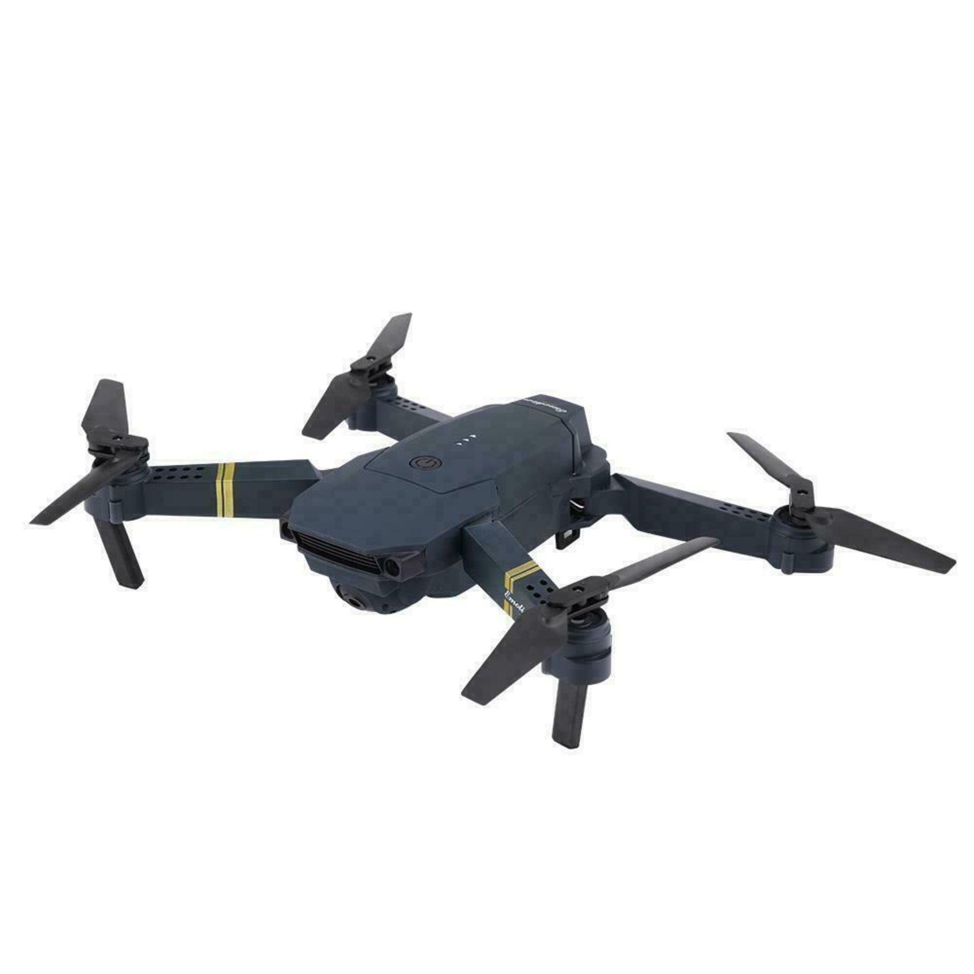 NEW & UNUSED DRONE X PRO WIFI FPV 1080P HD CAMERA FOLDABLE RC QUADCOPTER + BAG *PLUS VAT*