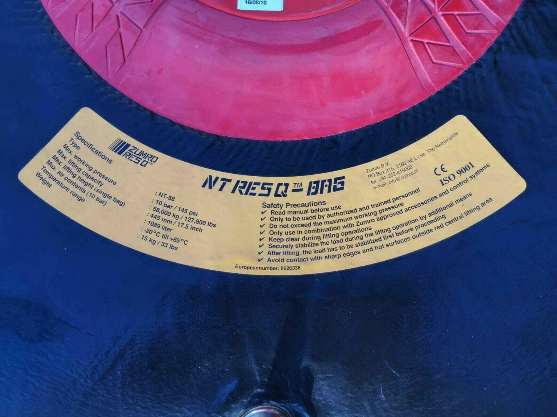 ZUMRO RESQ CASE & RESQ AIR BAGS NT-23, NT-58, NT-132. *PLUS VAT* - Image 5 of 7