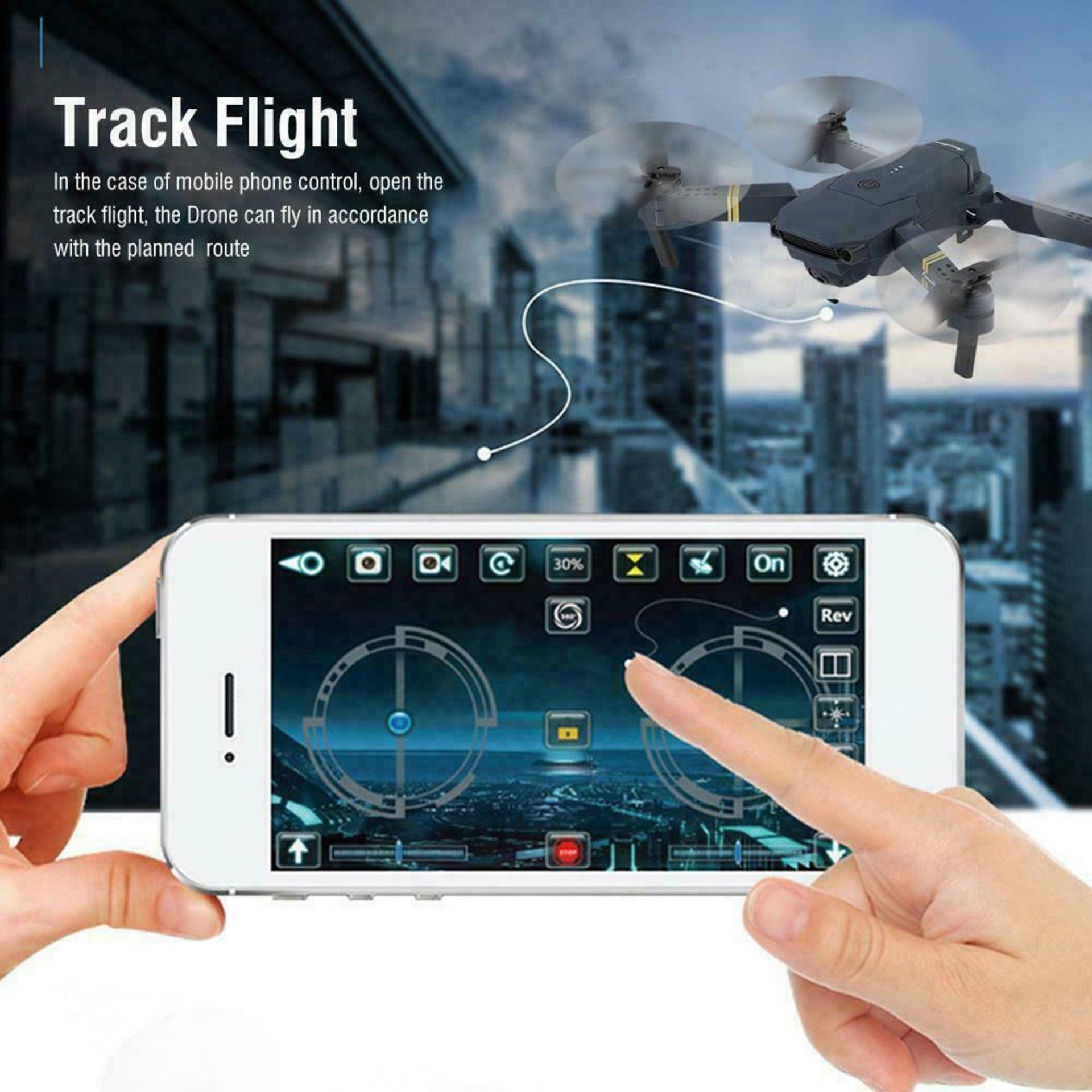 NEW & UNUSED DRONE X PRO WIFI FPV 1080P HD CAMERA FOLDABLE RC QUADCOPTER + BAG *PLUS VAT* - Image 7 of 9