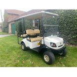 GOLF BUGGY CUSHMAN SHUTTLE 2 + 2, PETROL, 4 SEATER, ONLY 54 HOURS FROM NEW, PUCHASED NEW JUNE 2018