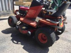 COUNTAX IBS K14 TWIN 42/107CM RIDE ON LAWN MOWER - SELLING AS SPARES / REPAIRS, NO RESERVE! *NO VAT*