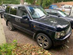 2003/03 AUTOBIOGRAPHY LAND ROVER RANGE ROVER VOGUE V8 AUTO 4.4 PETROL / LPG GAS *NO VAT*