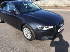 2014/64 REG AUDI A6 SE TDI CVT 3.0 DIESEL BLUE 4 DOOR SALOON, SHOWING 1 FORMER KEEPER *NO VAT*