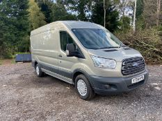 2014/64 REG FORD TRANSIT 310 TREND 2.2 DIESEL PANEL VAN, SHOWING 1 FORMER KEEPER *NO VAT*