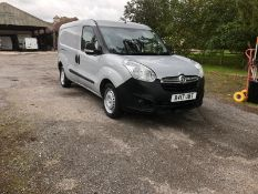 2017/17 REG VAUXHALL COMBO 2300 CDTI ECOFLEX S/S 1.25 DIESEL PANEL VAN, SHOWING 0 FORMER KEEPERS