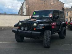 2007 JEEP WRANGLER JK SAHARA MODIFIED OFF ROAD MONSTER TRUCK LHD FRESH IMPORT