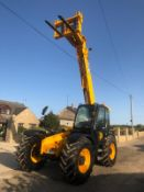 2012 JCB 550-80 AGRI PLUS TELEHANDLER, RUNS, DRIVES AND LIFTS, SHOWING 4214 HOURS *PLUS VAT*