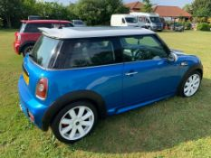 2006/56 REG MINI COOPER S 1.6 PETROL BLUE 3 DOOR HATCHBACK *NO VAT*