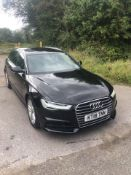 2018/18 REG AUDI A6 S LINE TDI ULTRA SEMI-AUTO 2.0 DIESEL ESTATE, SHOWING 1 FORMER KEEPER *NO VAT*