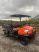 KUBOTA RTV900 FARM BUGGY, RUNS AND WORKS, HYDRAULIC TIP *NO VAT*