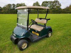 EZGO GOLF BUGGY, ELECTRIC, YEAR 2014, COMPLETE WITH ONBOARD CHARGER *PLUS VAT*