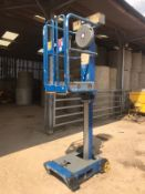 2013 PECOLIFT BY POWER TOWERS, MOVES BY HAND AND LIFTS BY HAND *PLUS VAT*