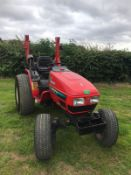 YANMAR FE280H COMPACT TRACTOR, RUNS AND DRIVES, 28HP, SHOWING 715 HOURS *PLUS VAT*