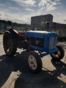 FORDSON MAJOR DIESEL TRACTOR, STARTS, RUNS AND DRIVES PTO AND HYDRAULICS WORK FINE *NO VAT*