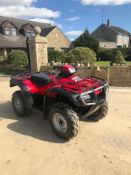 HONDA FOREMAN 4X4 FARM QUAD, WORKING WHEN LAST USED BUT KEYS HAVE BEEN LOST SINCE *NO VAT*