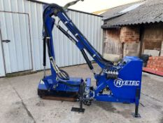 RYETEC 320 SIDE ARM FLAIL HEDGECUTTER COMPLETE WITH FINGER BAR ATTACHMENT *PLUS VAT*