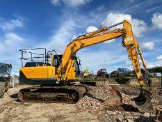 2015 HYUNDAI ROBEX 140LC-9A 14 TON TRACKED CRAWLER DIGGER / EXCAVATOR, CLEAN MACHINE *PLUS VAT*