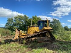 CATERPILLAR D6M TRACKED DOZER, RUNS, WORKS AND DOES WHAT IT SHOULD *PLUS VAT*