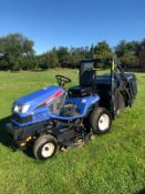 2011 ISEKI SXG19 RIDE ON LAWN MOWER, 1280 HOURS, RUNS, DRIVES AND CUTS, HIGH TIP COLLECTOR *PLUS VAT