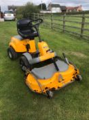 STIGA COMPACT 16 4WD RIDE ON LAWN MOWER, RUNS, DRIVES AND CUTS, OUTFRONT DECK, CLEAN MACHINE *NO VAT