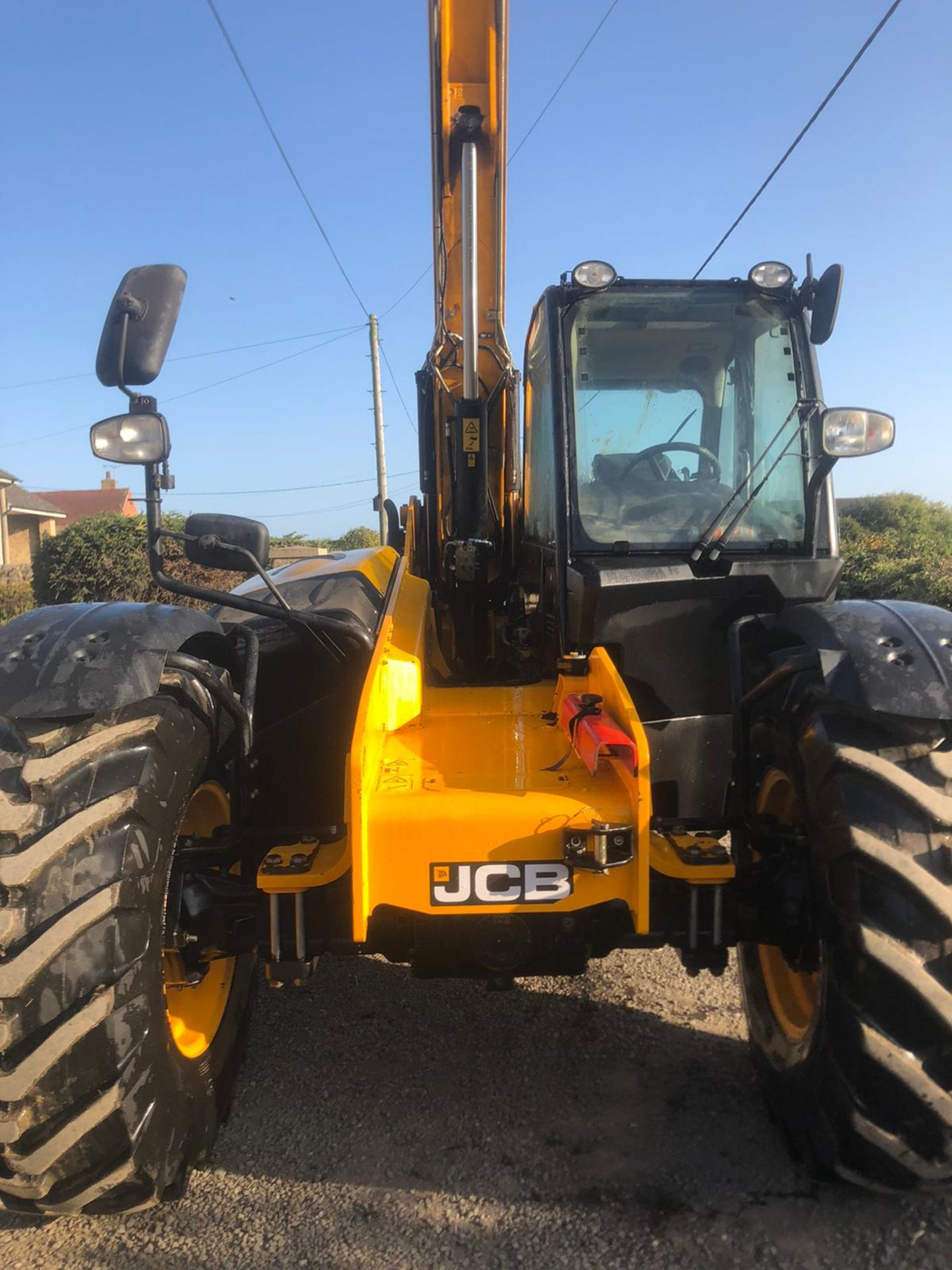 2012 JCB 550-80 AGRI PLUS TELEHANDLER, RUNS, DRIVES AND LIFTS, SHOWING 4214 HOURS *PLUS VAT* - Image 3 of 11
