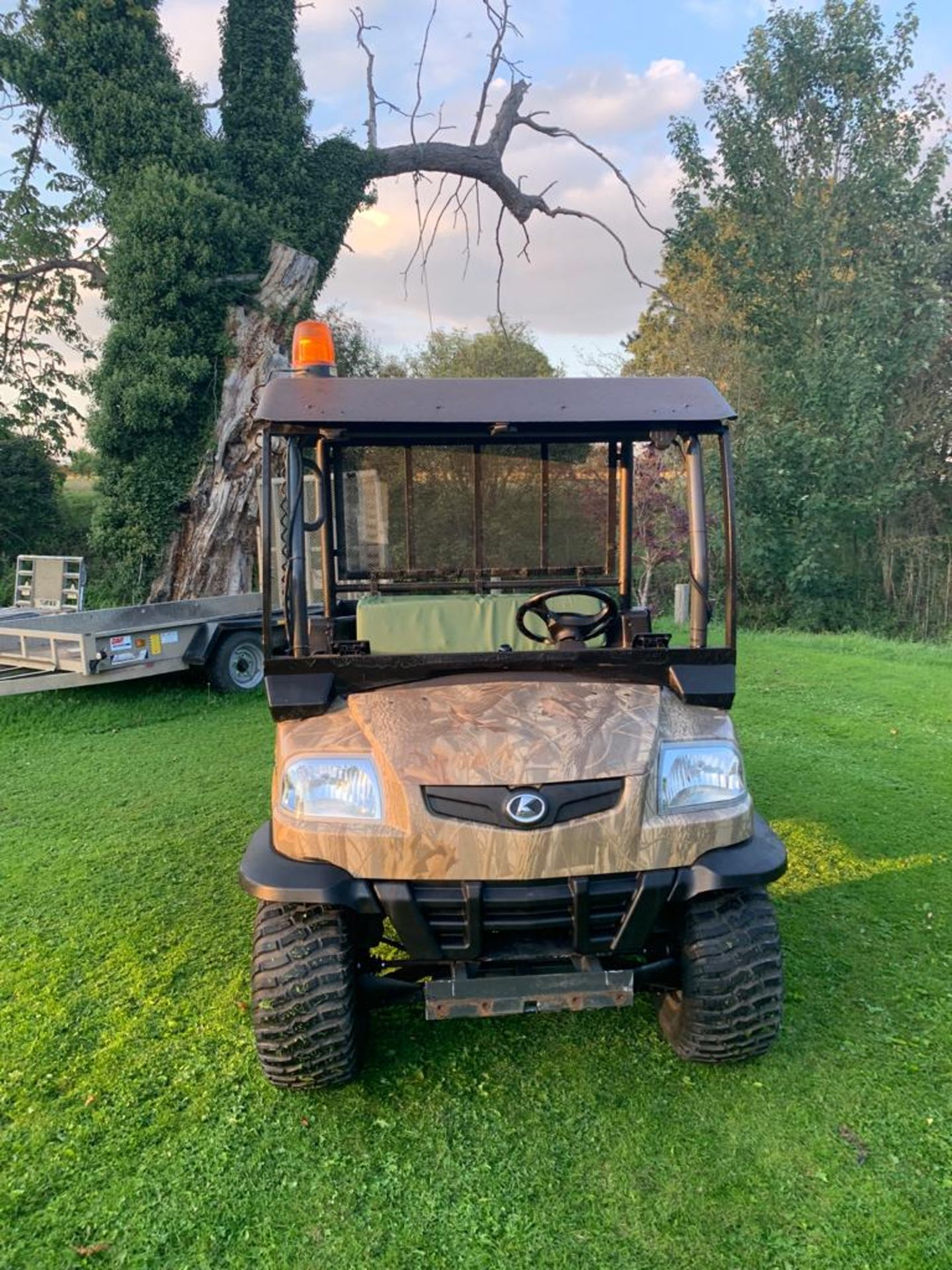 KUBOTA 4X4 DIESEL HYDRAULIC TIPPER BUGGY, RUNS, WORKS AND TIPS *PLUS VAT* - Image 4 of 22