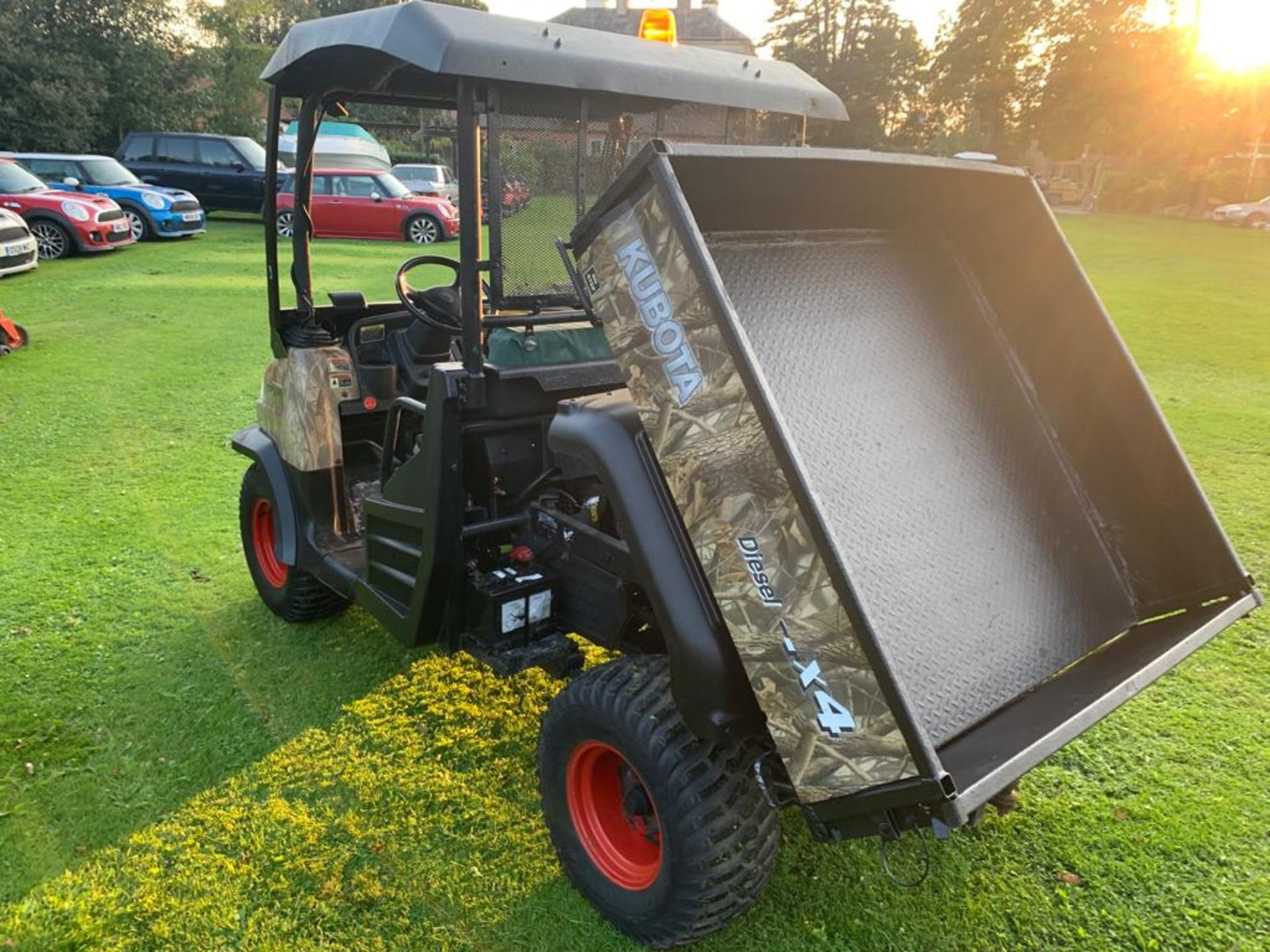 KUBOTA 4X4 DIESEL HYDRAULIC TIPPER BUGGY, RUNS, WORKS AND TIPS *PLUS VAT* - Image 7 of 22