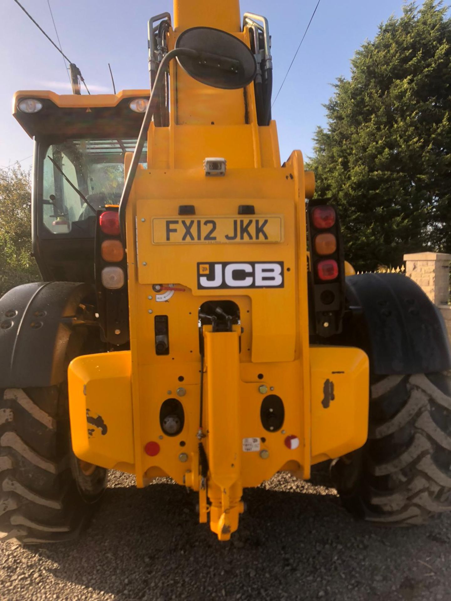 2012 JCB 550-80 AGRI PLUS TELEHANDLER, RUNS, DRIVES AND LIFTS, SHOWING 4214 HOURS *PLUS VAT* - Image 7 of 11
