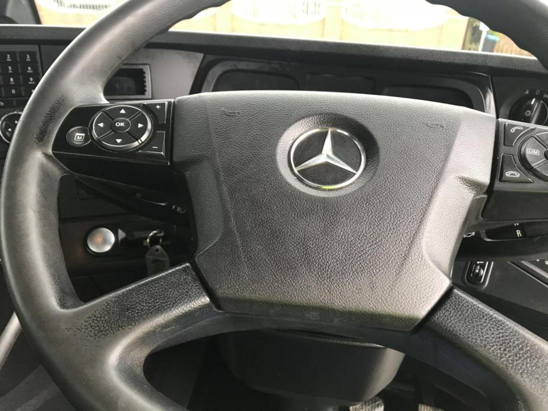 2014/64 REG MERCEDES-BENZ ACTROS 3240 HOOK LOADER 8X4 HARSH HOOK EQUIPMENT, AUTO GEARBOX *PLUS VAT* - Image 23 of 24