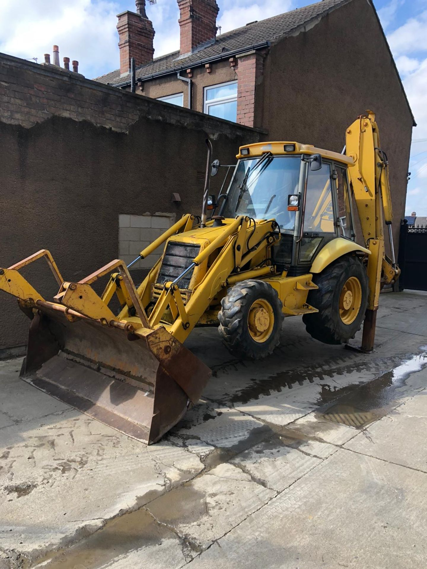 JCB 3CX PROJECT 8 DIGGER, 4X4, EXTRA DIG, C/W 3 BUCKETS, HOURS FROM NEW 7434 ONLY *NO VAT* - Image 14 of 16
