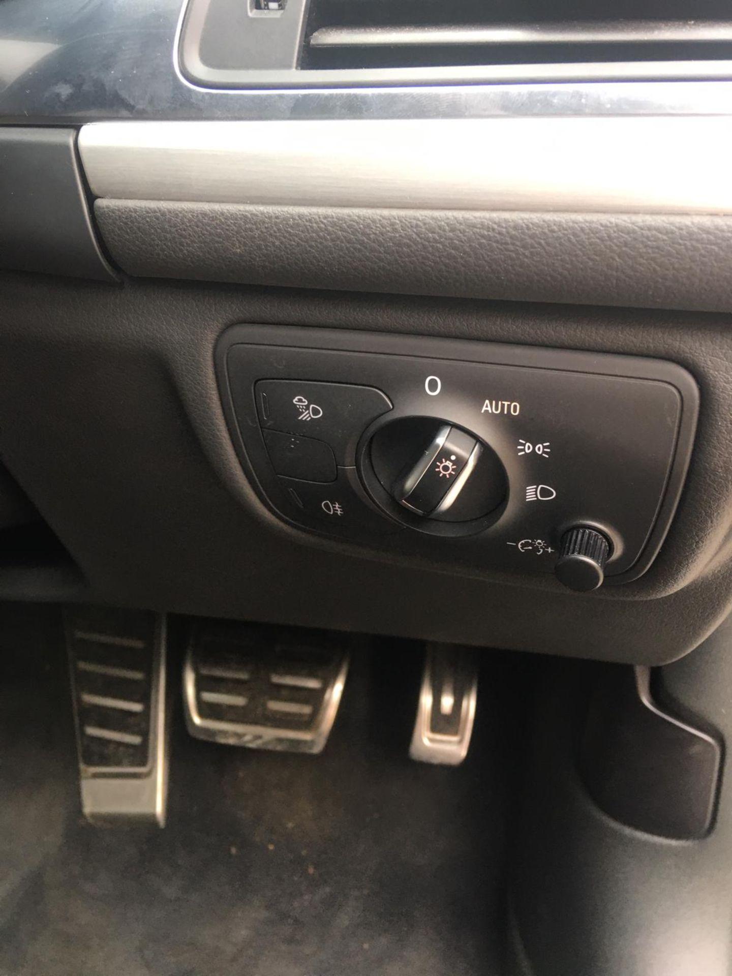 2018/18 REG AUDI A6 S LINE TDI ULTRA SEMI-AUTO 2.0 DIESEL ESTATE, SHOWING 1 FORMER KEEPER *NO VAT* - Image 13 of 33