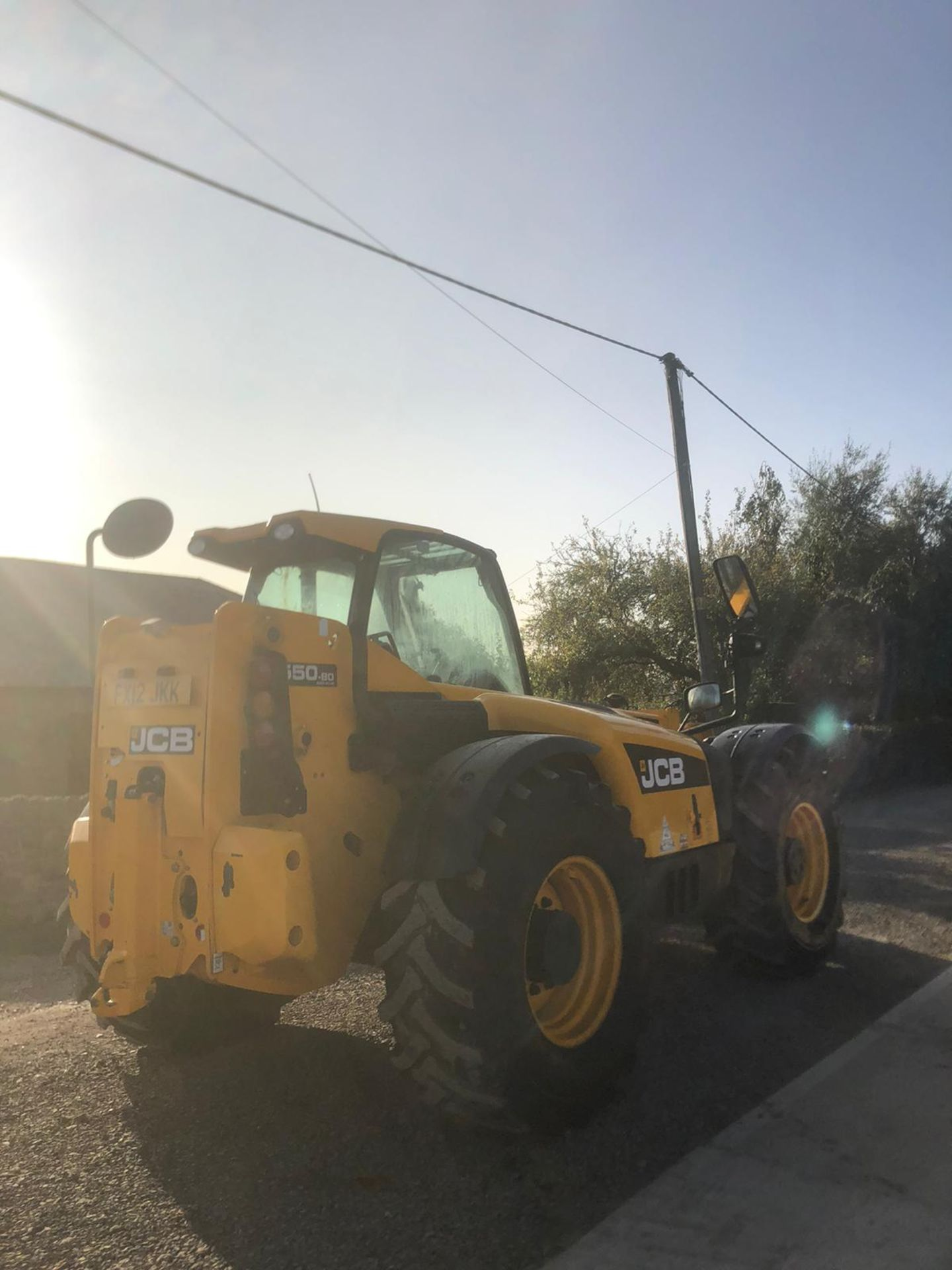 2012 JCB 550-80 AGRI PLUS TELEHANDLER, RUNS, DRIVES AND LIFTS, SHOWING 4214 HOURS *PLUS VAT* - Image 11 of 11