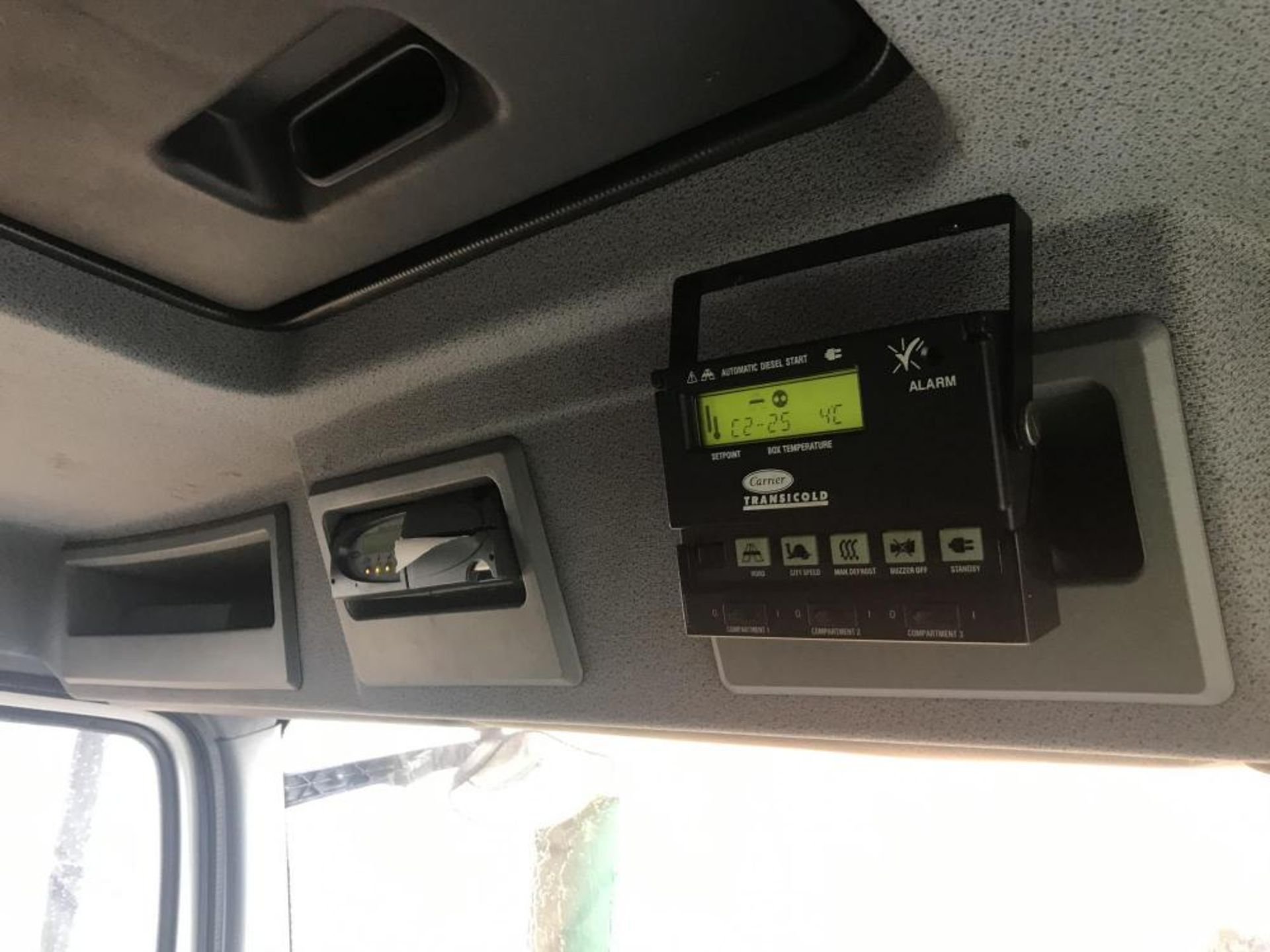 2013/63 REG MERCEDES-BENZ AXOR ATEGO 1824L DAY WHITE FRIDGE BOX TAIL LIFT AIR SUSPENSION *PLUS VAT* - Image 10 of 21