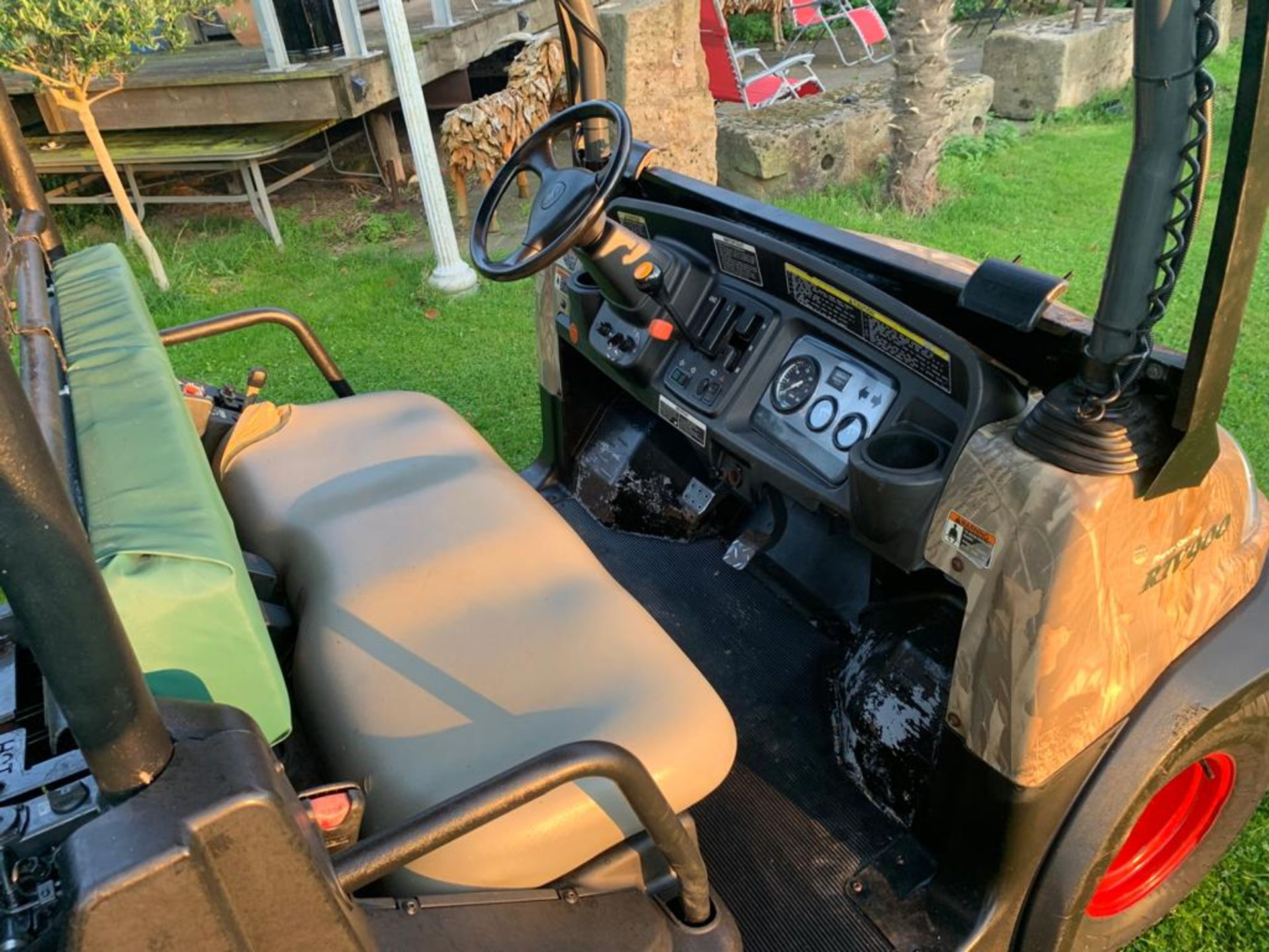 KUBOTA 4X4 DIESEL HYDRAULIC TIPPER BUGGY, RUNS, WORKS AND TIPS *PLUS VAT* - Image 14 of 22
