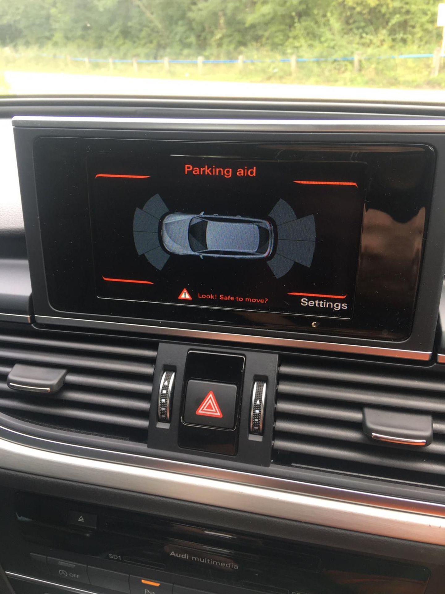 2018/18 REG AUDI A6 S LINE TDI ULTRA SEMI-AUTO 2.0 DIESEL ESTATE, SHOWING 1 FORMER KEEPER *NO VAT* - Image 26 of 33