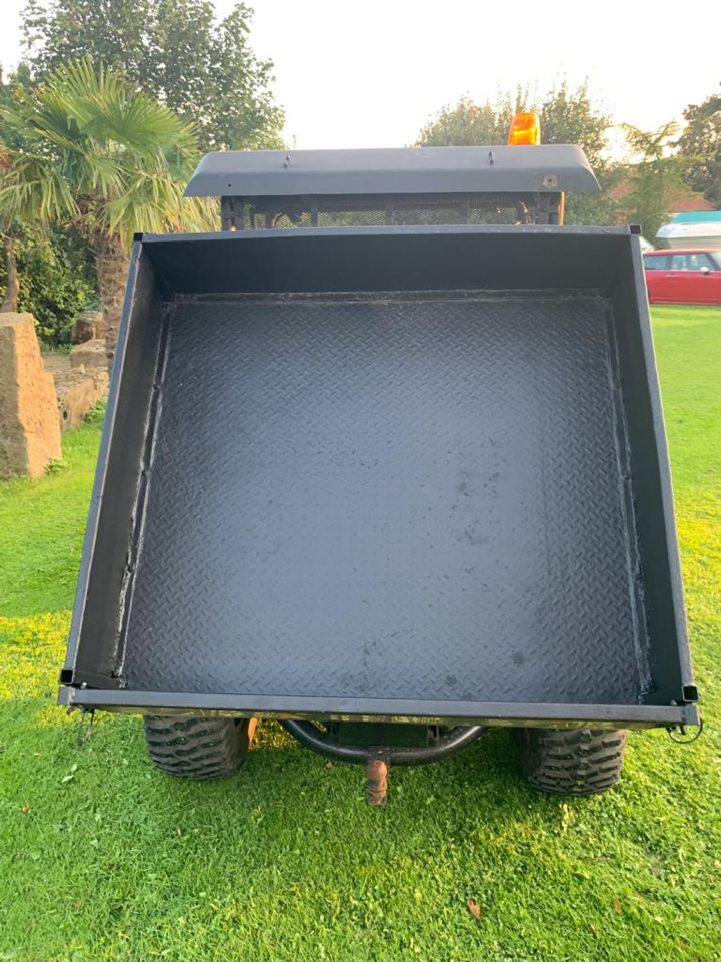 KUBOTA 4X4 DIESEL HYDRAULIC TIPPER BUGGY, RUNS, WORKS AND TIPS *PLUS VAT* - Image 8 of 22