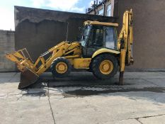 JCB 3CX PROJECT 8 DIGGER, 4X4, EXTRA DIG, C/W 3 BUCKETS, HOURS FROM NEW 7434 ONLY *NO VAT*