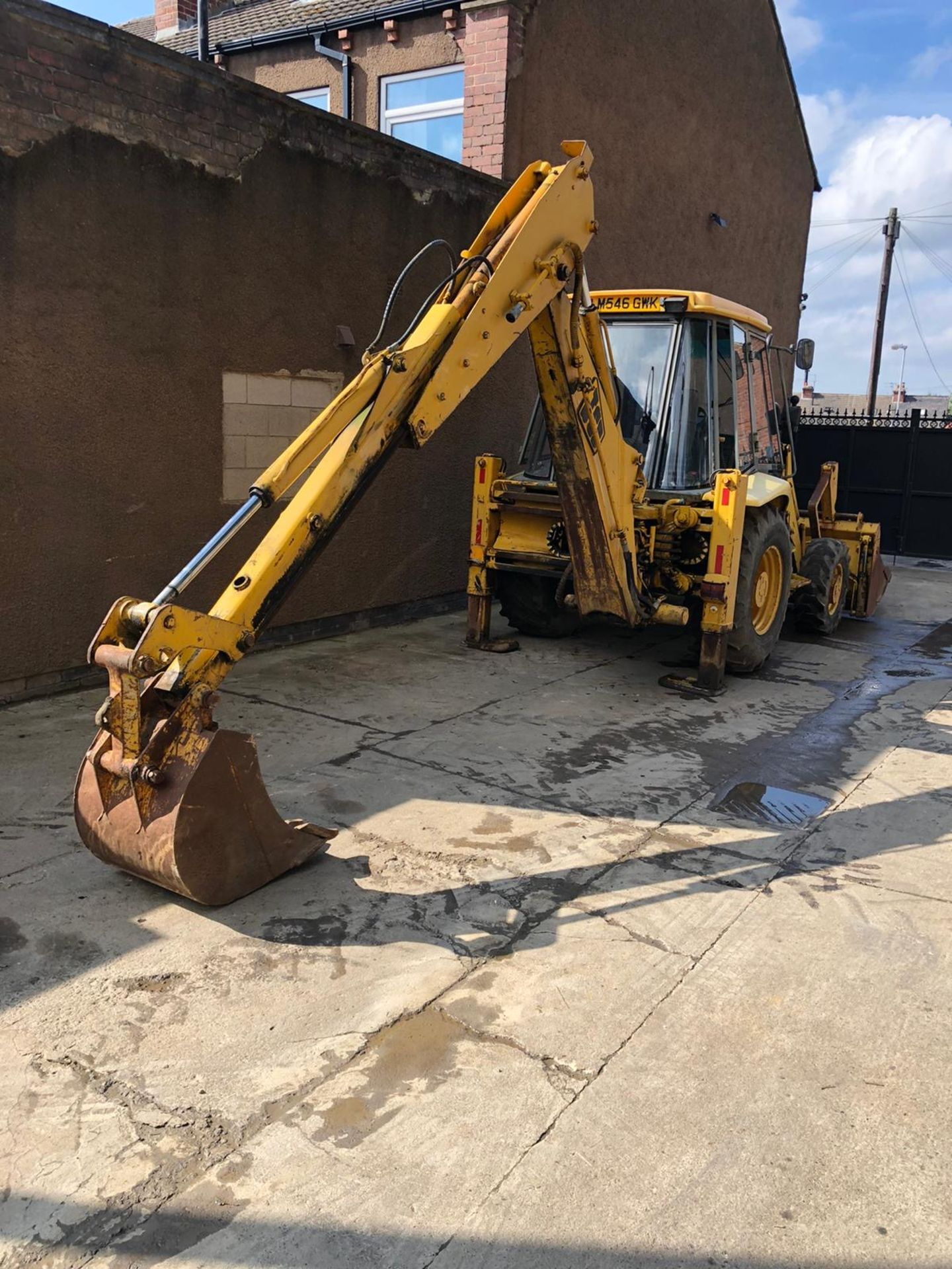 JCB 3CX PROJECT 8 DIGGER, 4X4, EXTRA DIG, C/W 3 BUCKETS, HOURS FROM NEW 7434 ONLY *NO VAT* - Image 4 of 16