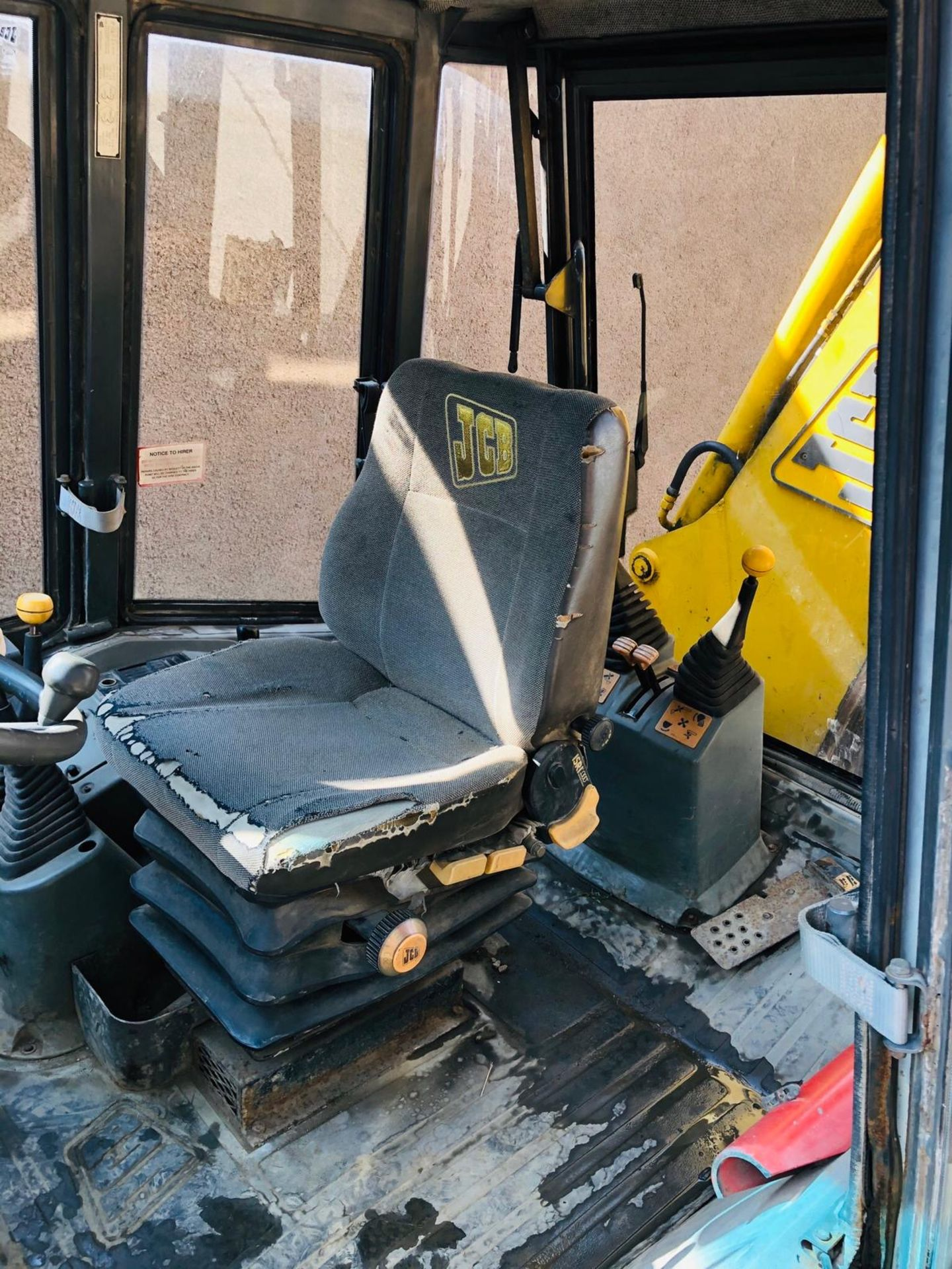 JCB 3CX PROJECT 8 DIGGER, 4X4, EXTRA DIG, C/W 3 BUCKETS, HOURS FROM NEW 7434 ONLY *NO VAT* - Image 7 of 16
