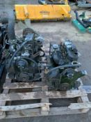 YANMAR / JOHN DEERE ENGINES, PRICE IS FOR THE PAIR, EX COUNCIL, SELLING AS SPARES *PLUS VAT*