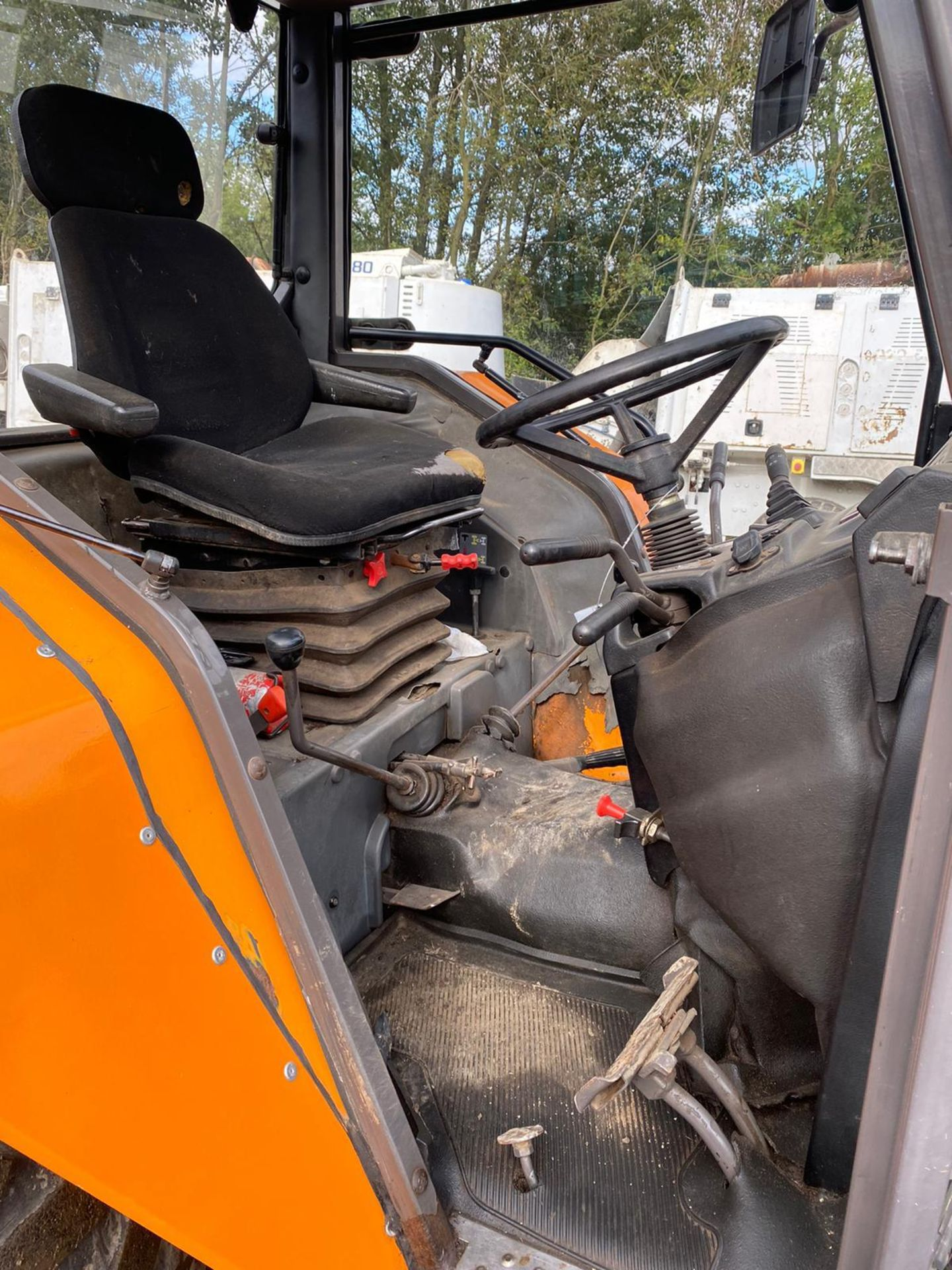 Lot 52 - 2005 RENAULT 210 PALES TRACTOR, RUNS AND DRIVES *PLUS VAT*
