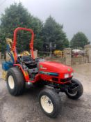YANMAR FE280H COMPACT TRACTOR, RUNS, DRIVES AND WORKS, CLEAN MACHINE, 716 HOURS FROM NEW *PLUS VAT*