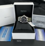 SEIKO SOLAR 100M MILITARY STYLE MENS SNE095P2 WRIST WATCH - BRAND NEW *NO VAT*